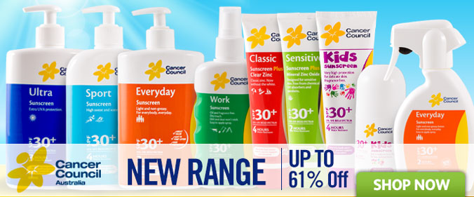 Save Up to 60% OFF Top brands like Cancer Council, Banana Boat, Aerogard & heaps more at Groceryrun.com.au